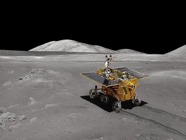 Novidades do Yutu, jipe lunar (Foto: Glen Nagle)