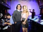 Danielle Winits e André Gonçalves relatam noivado para Ana Maria Braga
