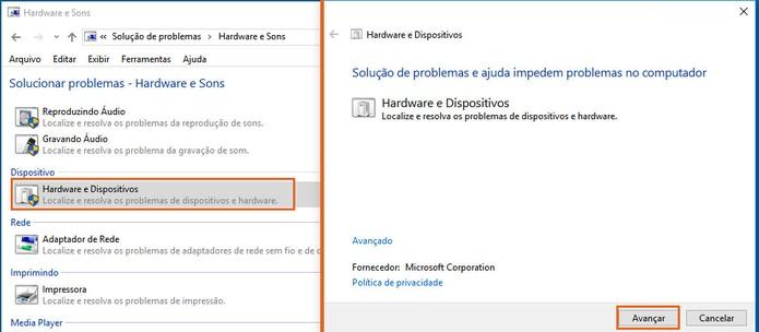 Inicie a análise por erros no computador com Windows 10 (Foto: Reprodução/Barbara Mannara)