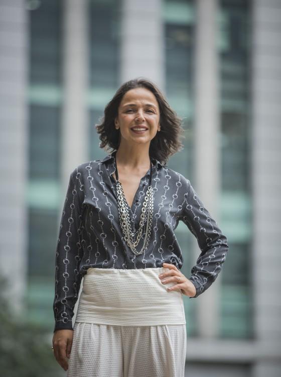 Fernanda Ralston Semler lança site em que prega o conceito batizado de après luxe (Foto: Anna Carolina Negri/ Época)