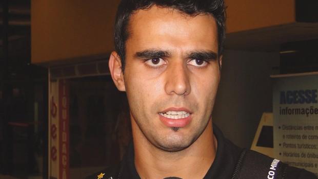 Luiz Eduardo, zagueiro do Atlético-MG (Foto: Leonardo Simonini / Globoesporte.com)