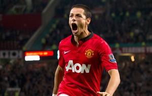 Chicharito Hernandez gol Manchester United contra Liverpool (Foto: AP)