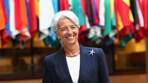 Christine Lagarde diretora-gerente do Fundo Monetário Internacional (Foto: Getty Images)