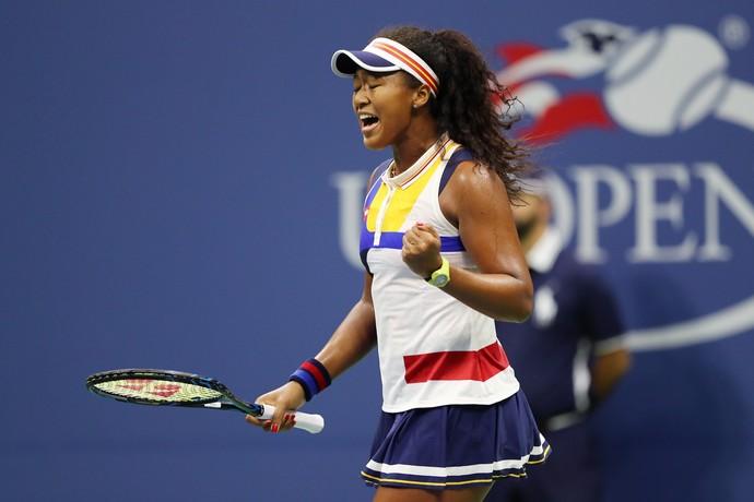 Naomi Osaka vence Angelique Kerber no US Open (Foto: ELSA / GETTY IMAGES NORTH AMERICA / AFP)