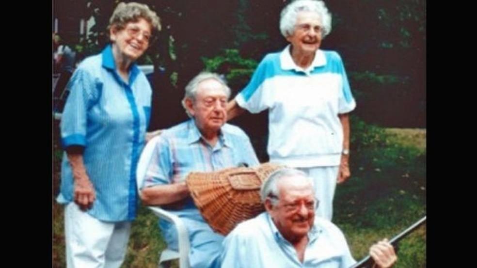 Todos os irmãos Kahn passaram dos 100 anos com vida saudável (Foto: Arquivo)