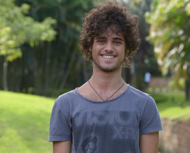 Michel Pereira Santos - 19 anos (Foto: Raphael Dias/TV Globo)