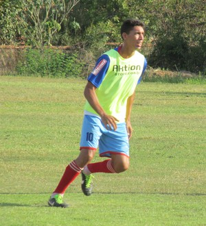 Vitor Recife em treino do Enxuga Rato (Foto: Renan Morais)
