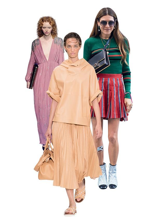 Direto de Milão... o geek chic vintage da Gucci e o conforto sofisticado  da Tod's (Foto: .)