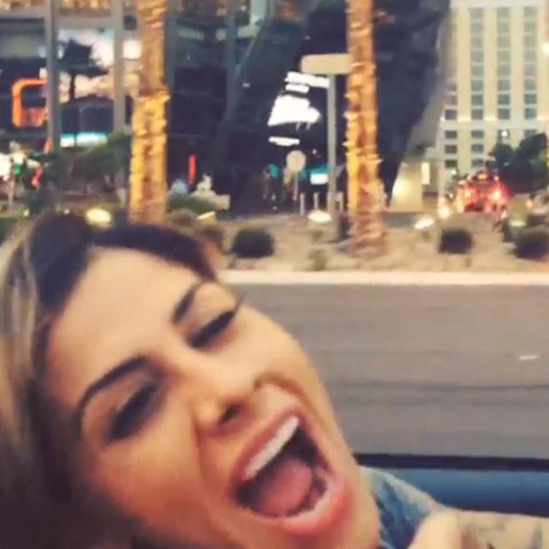 Ex-BBB Vanessa em Las Vegas, nos Estados Unidos (Foto: Instagram/ Reprodução)