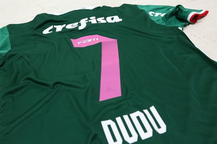Camisa Palmeiras Outubro Rosa (Foto: Divulgação)