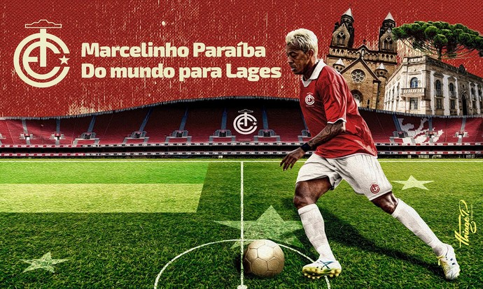 Marcelinho Paraíba Inter de Lages  (Foto:  Thiago Pereira/Inter de Lages)