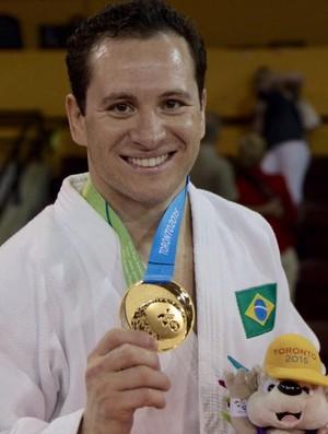 Tiago Camilo ouro judô Pan Americano Toronto 2015 (Foto: Danilo Borges / ME)