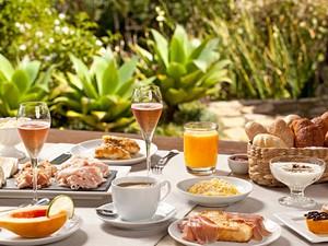 Café da manhã da pousada La Belle Bruna é uma das indicações de Christiane (Foto: Divulgação)