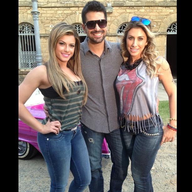 Babi Rossi e Jaque Khury posam juntas para campanha (Foto: Instagram)