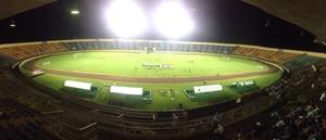 Estádio Douradão para Sete de Dourados x Corumbaense (Foto: Monica Dau/TV Morena)