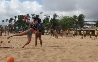 Brasil disputa Pan-Americano Juvenil de Handebol de Areia no Paraguai
