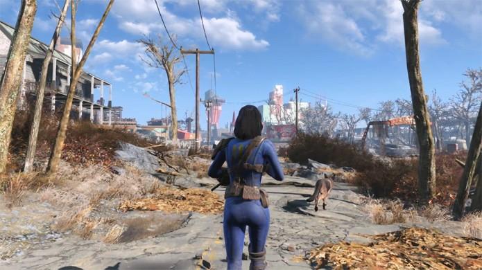 A guerra nunca muda no trailer de lançamento de Fallout 4 (Foto: Reprodução/YouTube)