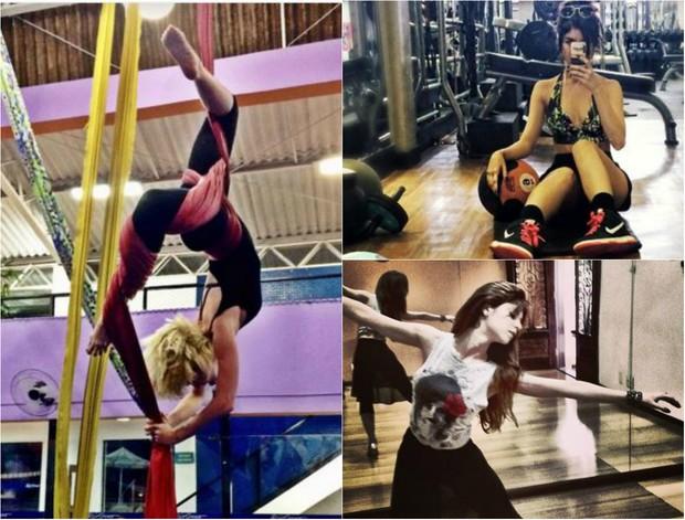 Julianne Trevisol é formada em balé, jazz, sapateado, dança contemporânea e de salão: Hoje faço yoga, academia, corda e acrobacia de circo (Foto: Reprodução do Instagram)