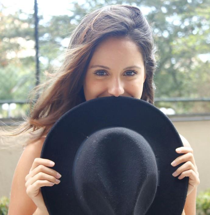 Amanda de Gogoi gatíssima! (Foto: Mariana Siha/Arquivo Pessoal)