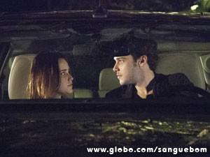 Os dois se entendem que é uma beleza... (Foto: Sangue Bom / TV Globo)