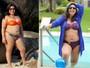 Mariana Xavier perde dez quilos, mas garante: 'Não quero ficar magra'