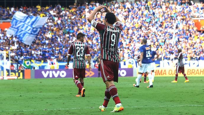 Cruzeiro x Fluminense, Gol Fred (Foto: Nelson Perez / Fluminense FC)