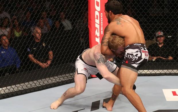 Dennis Bermudez vence Tommy Hayden no UFC 150 (Foto: Getty Images)