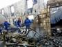 17 morrem em incêndio em asilo na Ucrânia (State Emergency Service of Ukraine/Reuters)