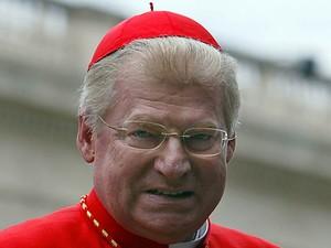 Dom Angelo Scola, arcebispo de Milão, em outubro de 2012 (Foto: AFP)