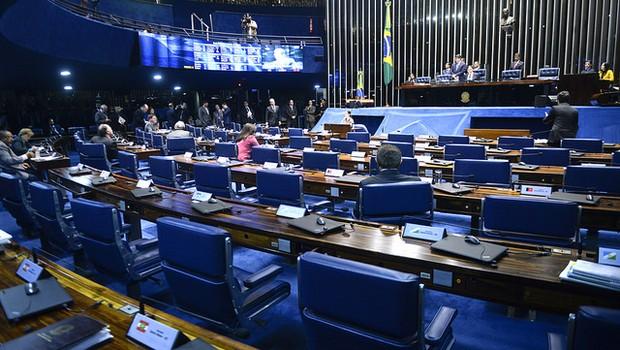 Plenário do Senado Federal (Foto: Jefferson Rudy/Agência Senado)