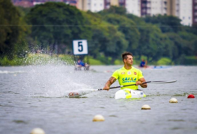 canoagem Fernando Fernandes Copa Brasil (Foto: Graziella Batista/CPB/MPIX)