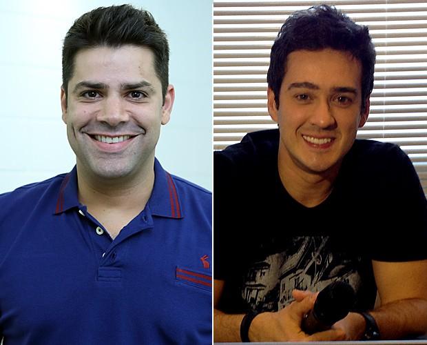 Lair Rennoó e Marcos Veras (Foto: The Voice Brasil/TV Globo)