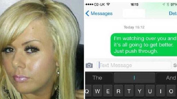Sheri Emerson achava 'reconfortante' enviar mensagens para o número de celular da avó (Foto: BBC)