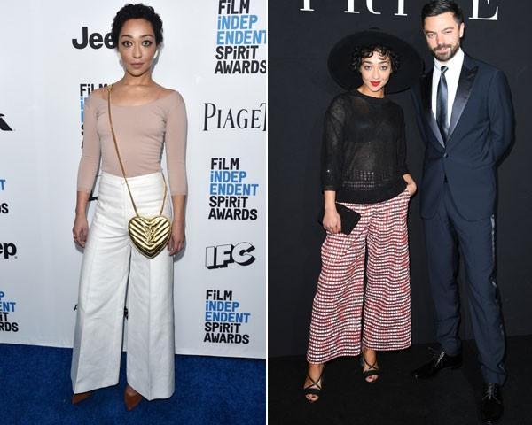Calças amplas deixam seus looks de duas peças sofisticados (Foto: Getty Images)