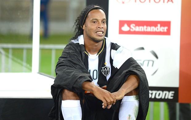 Ronaldinho Atlético-MG festa título Libertadores (Foto: AFP)