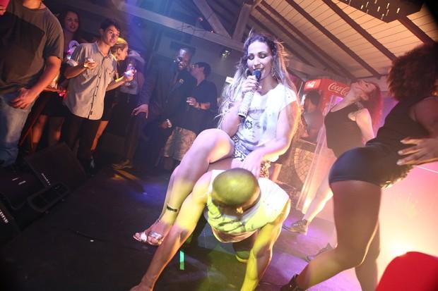Valesca Popozuda em show no Rio de Janeiro (Foto: RAPHAEL MESQUITA / DIVULGAÇÃO)