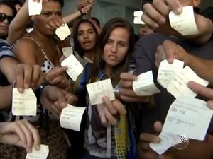 Estudantes (Foto: Reprodução / TV Bahia)