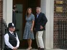 Bebê real é 'absolutamente lindo', diz mãe de Kate Middleton
