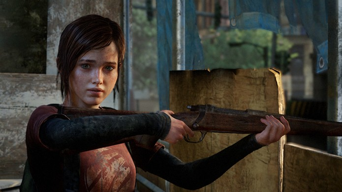 Em Last of Us, Ellie é uma jovem protagonista que acompanha Joel (Foto: Divulgação/Naughty Dog)