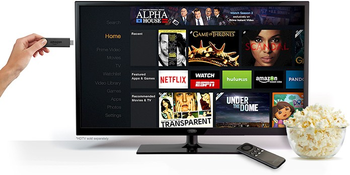 Fire TV Stick é dongle de streaming da Amazon que chega para brigar com Chromecast (Foto: Divulgação)