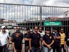 Agentes penitenciários paralisam e impedem saída de viaturas de escolta