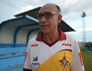 Técnico Mirandinha (Foto: Eliete Marques)