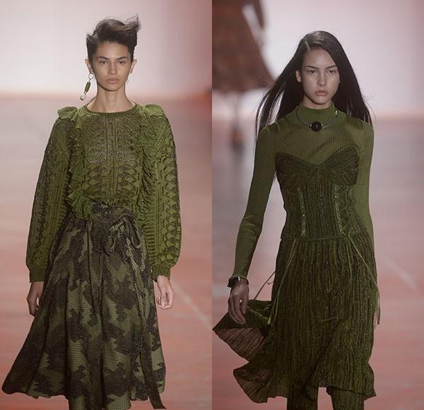 A GIG Couture apostou no militarismo repaginado (Foto: AgNews)