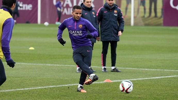 Douglas Barcelona (Foto: Divulgação/Site oficial do Barcelona)