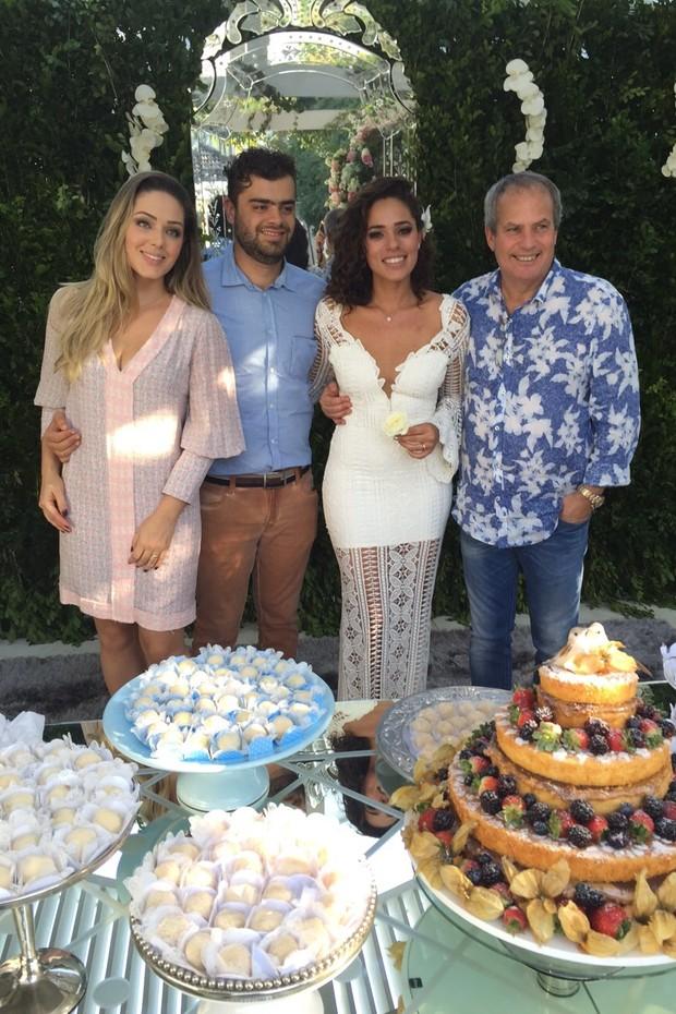 Casamento da atriz Roberta Almeida (Foto: Divulgação)