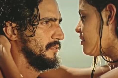 Renato Góes e Julia Dalavia (Foto: Reprodução)