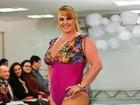 Modelos 'plus size' elogiam  ex-paquita Ana Paula: 'Corpo ótimo'