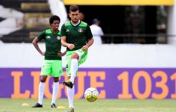 Encaixado, Fernando Gabriel tem boa participação em gols do Santa Cruz