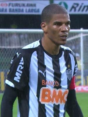 Leonardo Silva, zagueiro do Atlético-MG (Foto: Reprodução/TV Globo Minas)