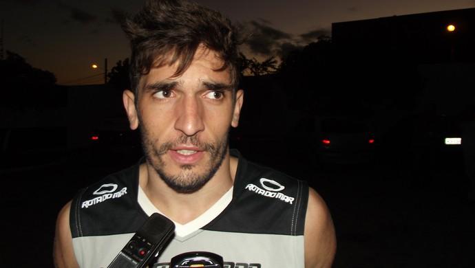 Ramon Zanardi, zagueiro do Treze (Foto: Silas Batista / Globoesporte.com/pb)